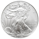 1 troy ounce American Silver Eagle