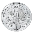 1 troy ounce silver Philharmonic